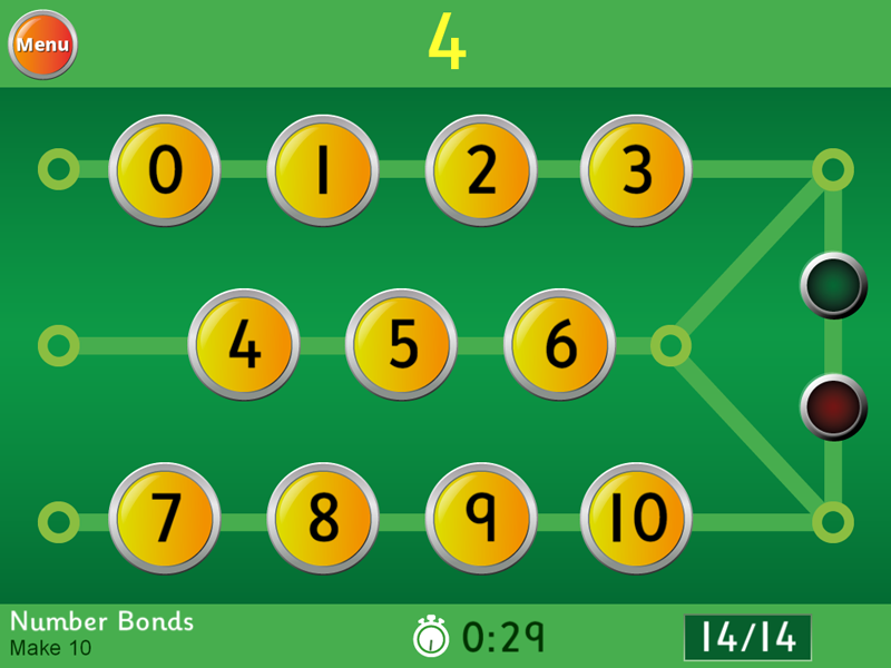 Hit the Button App Available Now - Number bonds, Times Tables ...