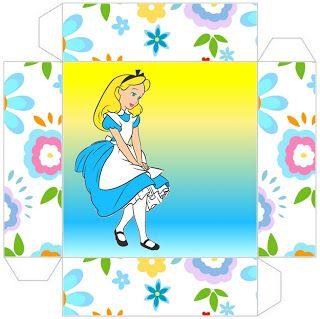 Alice no País das Maravilhas Disney - Kit Completo com molduras para convites, rótulos para guloseimas, lembrancinhas e imagens!