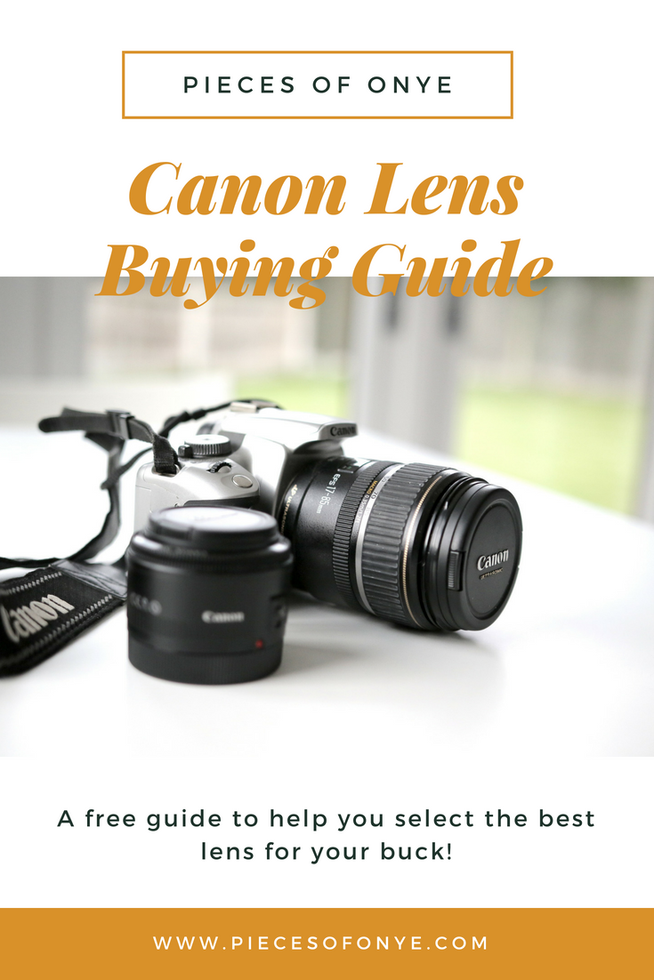 canon camera lens buying guide for influencers photography rh pinterest com lenses buying guide lens buying guide nikon