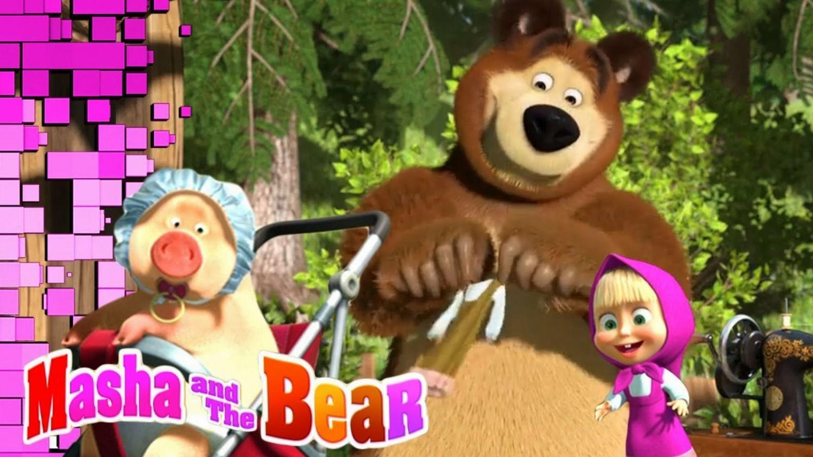 Masha And The Bear Hd Wallpapers Bear Cartoon Bear
