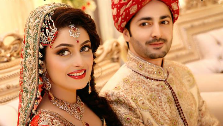 Top Famous Wedding Couple Of Pakistani Celebrities Wedding Couples Indian Matrimony Matrimony