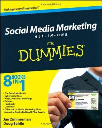 Social Media Marketing All In One For Dummies Bookz Ebookz Social Media Books Social Media Marketing Social Media