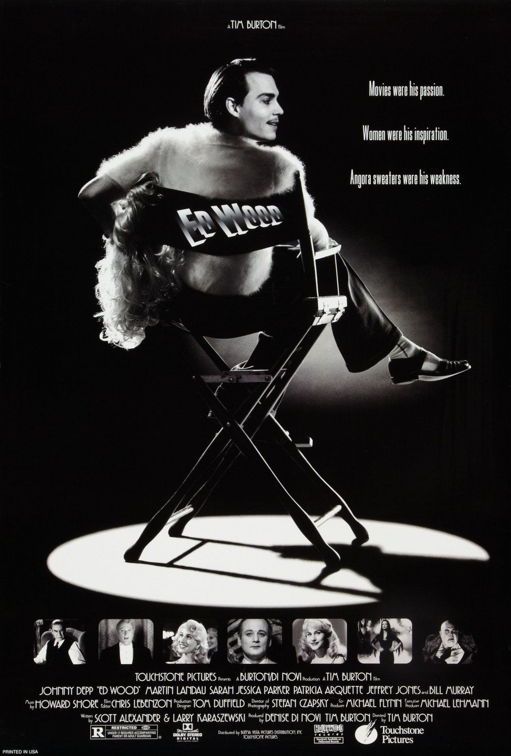 Image result for ed wood poster 1994