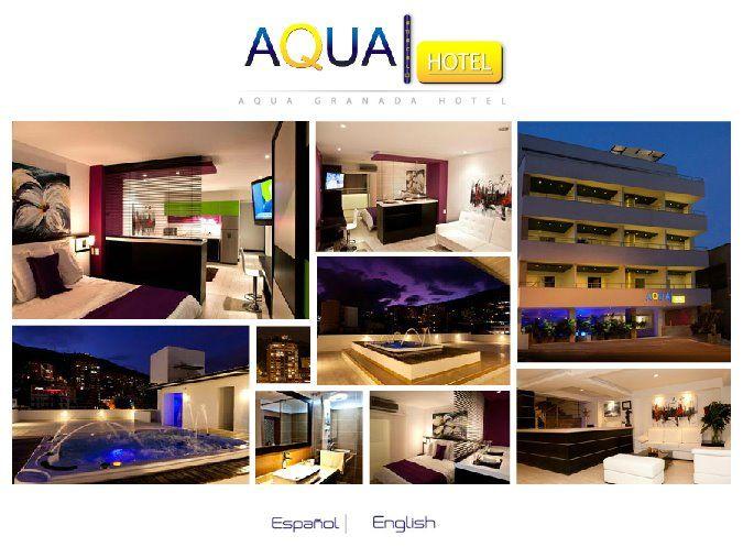 Collage De Imagenes De Aqua Granada Hotel Www Aquagranada Com Aqua Hotel Hotel Cali