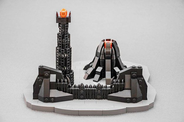 One Does Not Simply Walk Into Mordor Lego Lego Instructions And