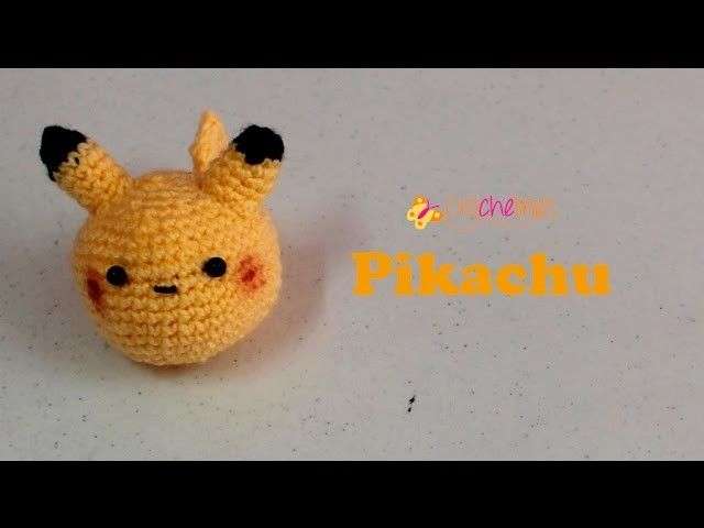 Pikachu - crochelines- super fácil de tejer. | Pikachu, Muñecos ...