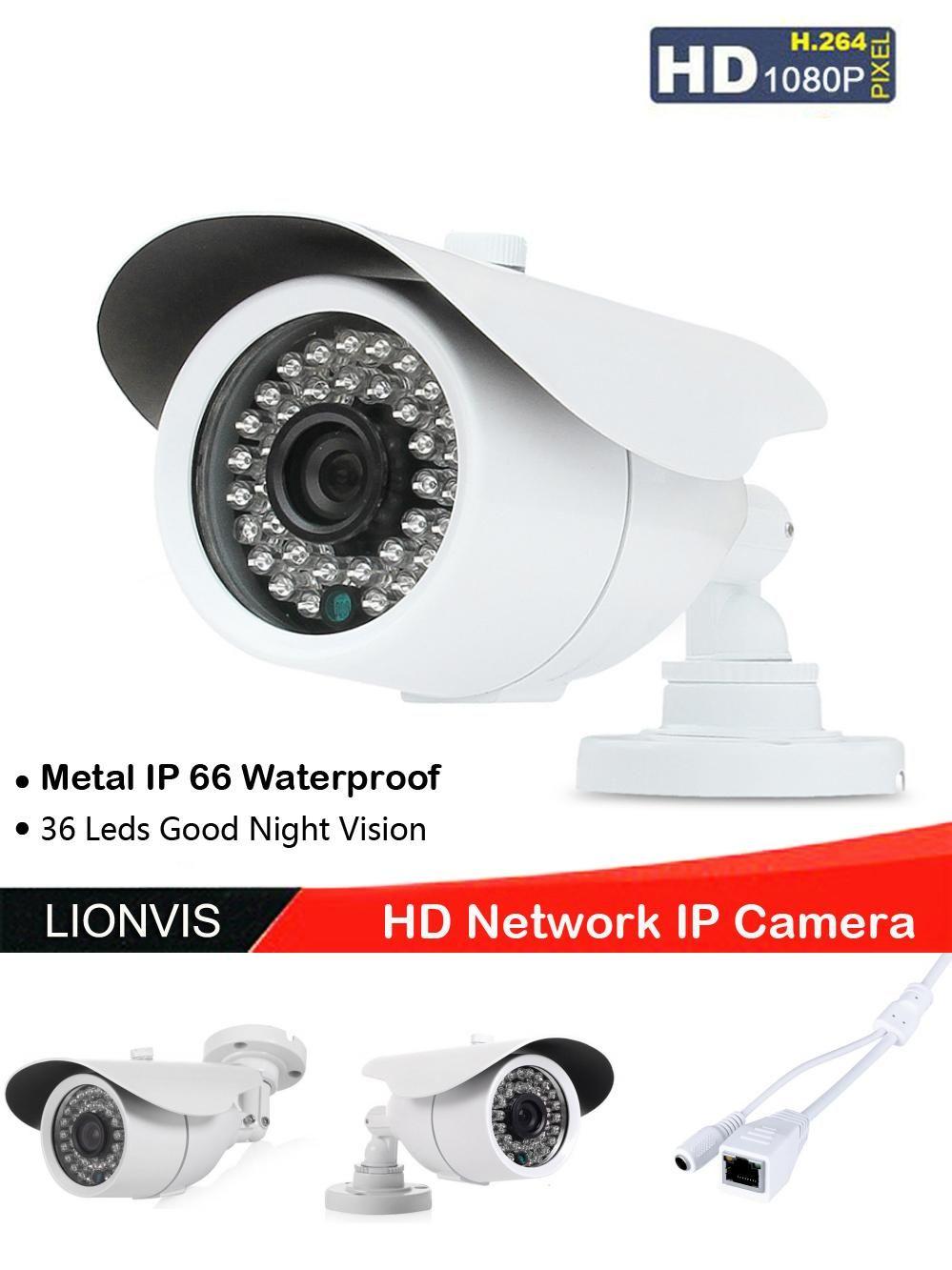 Visit to Buy] HD 1080P Network IP Camera 36 IR LED Night
