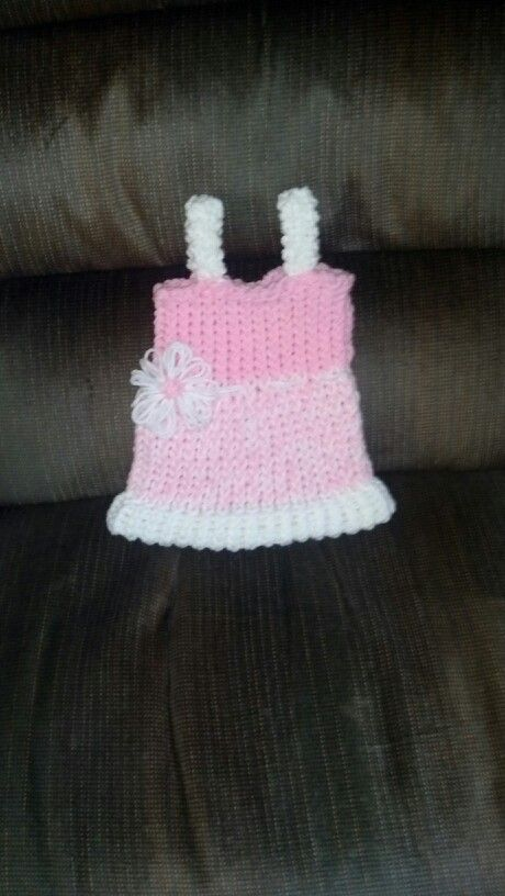 Baby Dress Loom Knit Accomplished Pinterest Loom Knitting