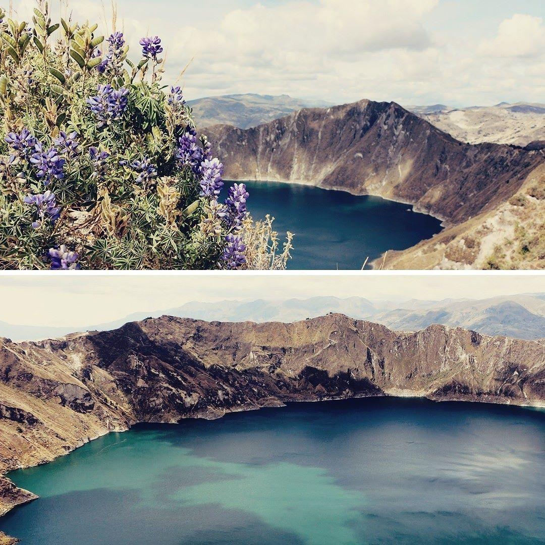 Circuito Quilotoa : O vulcão quilotoa no equador é tão lindo que tivemos que colocar