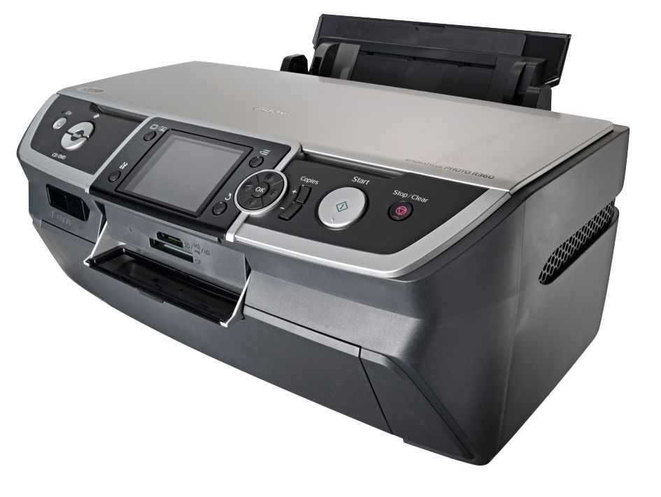Epson R360 review | This colour inkjet boasts CD printing facilities, a rack of camera card bays and a large colour LCD screen for previewing shots. You can also print from BlueTooth devices, but need to buy a separate dongle to do this Reviews | TechRadar