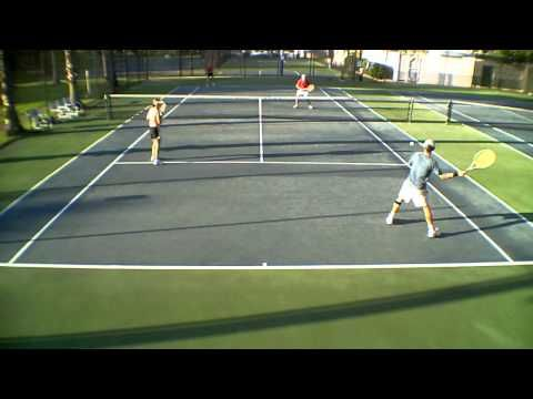 Mixed Doubles Positioning Tennis Strategy Tennis Videos Tennis Tennis Court
