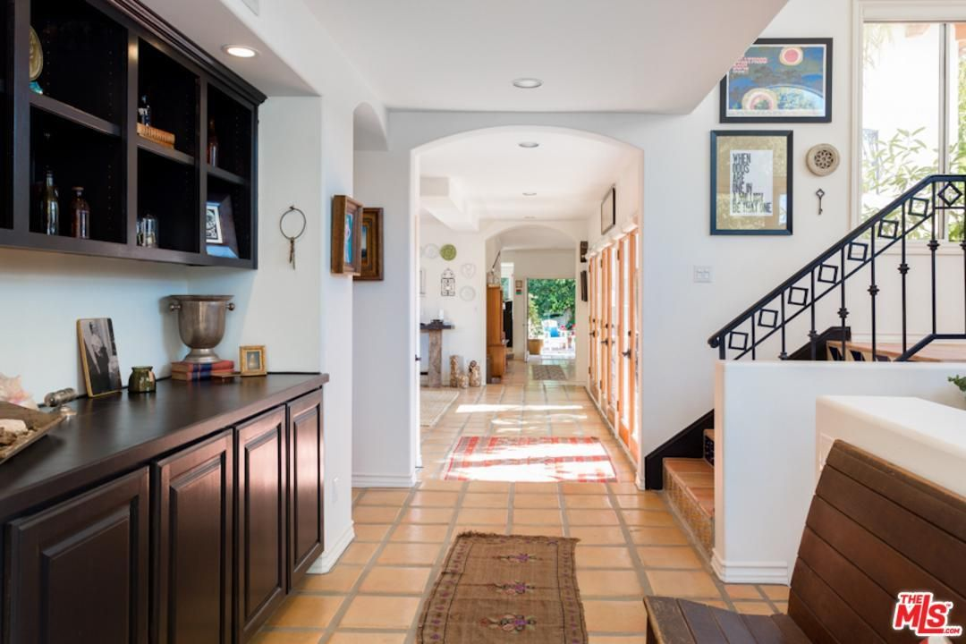 Nestled on a prime corner lot on the only private street