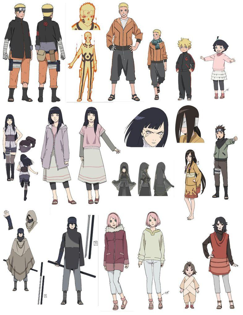 Character Design Naruto The Last : Character design naruto the last lightningdash