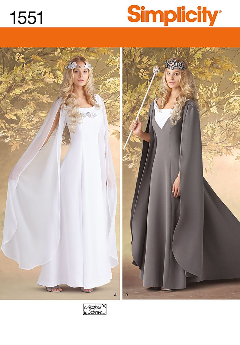 Simplicity 1551 Misses\' Costumes | Pinterest | Kostüm ...