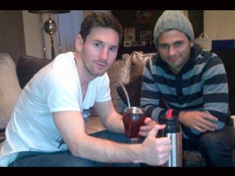 Messi Tomando Mate Yerba Mate Mate Tea Lionel Messi