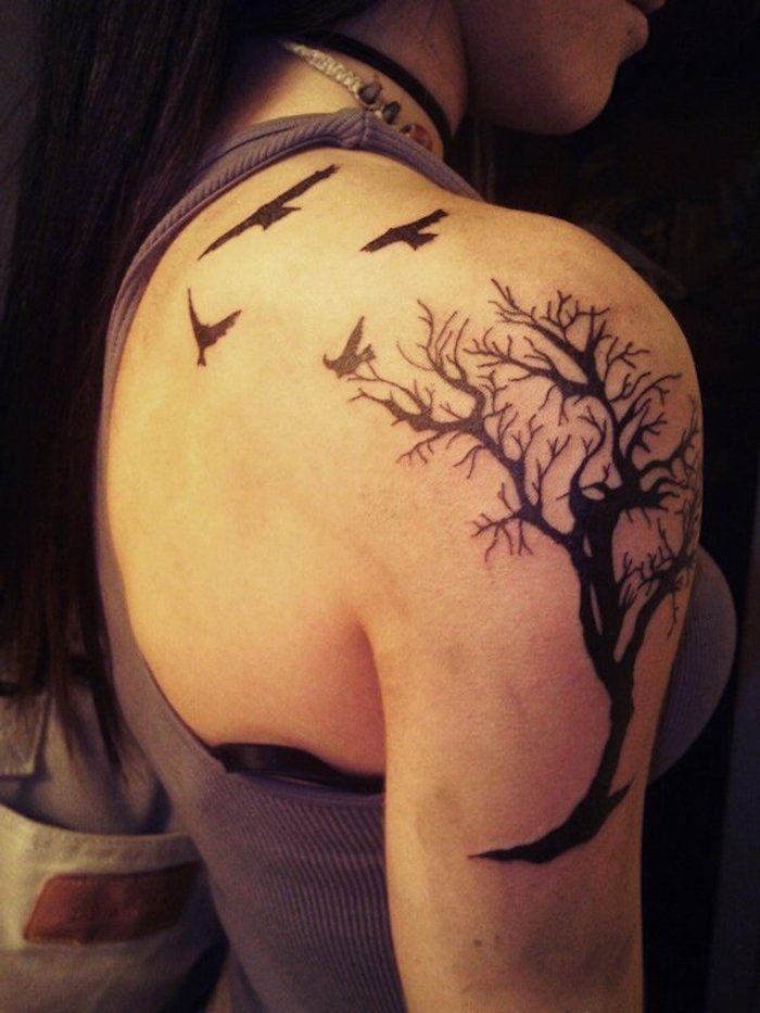 tatuaje tatuajes t tattoo ideen lebensbaum und lotus. Black Bedroom Furniture Sets. Home Design Ideas