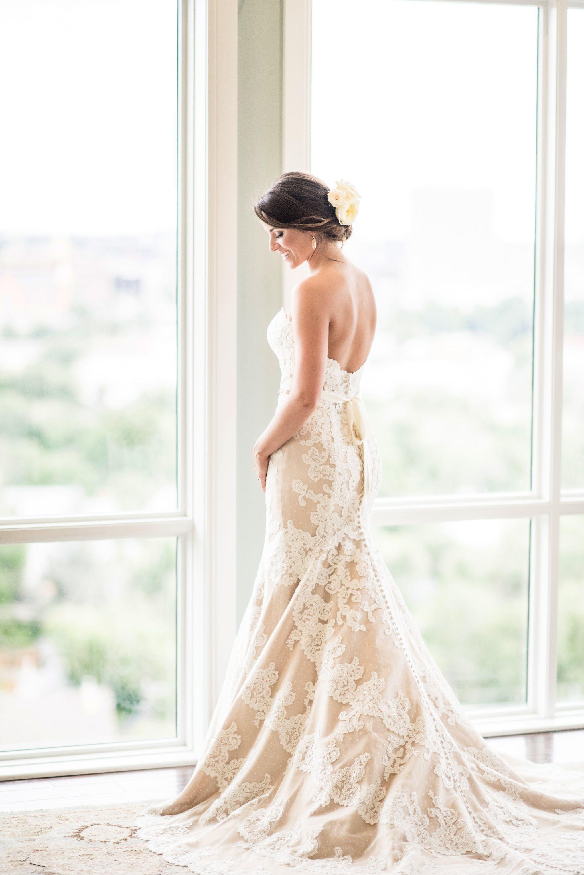 Matthew Christopher Emma Wedding Dress Used, Size 8