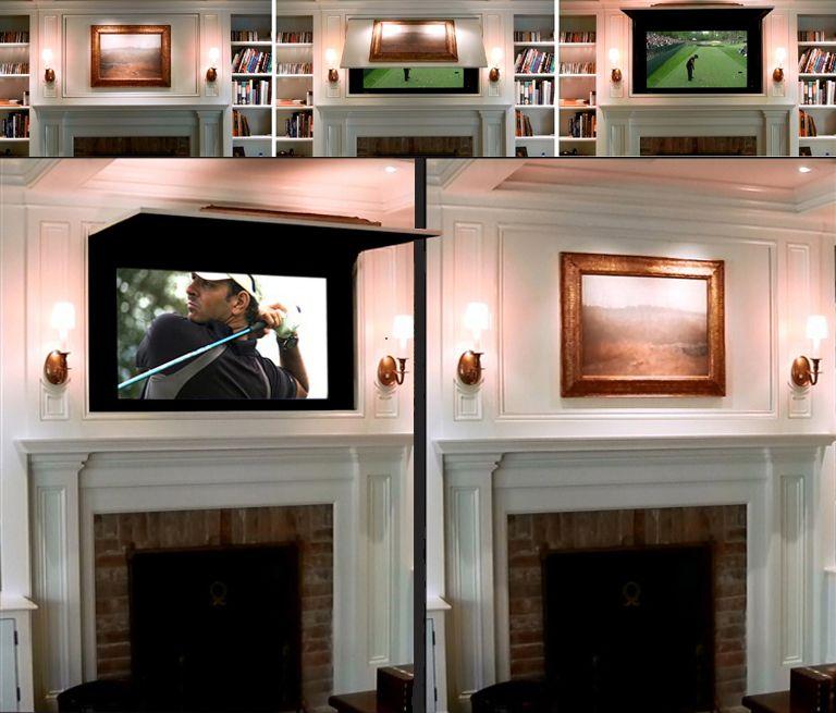 TVCoverUps-Hide-TV-Hidden-TV-TV-Cabinet-frame-tv-framed-tv-frame-the ...