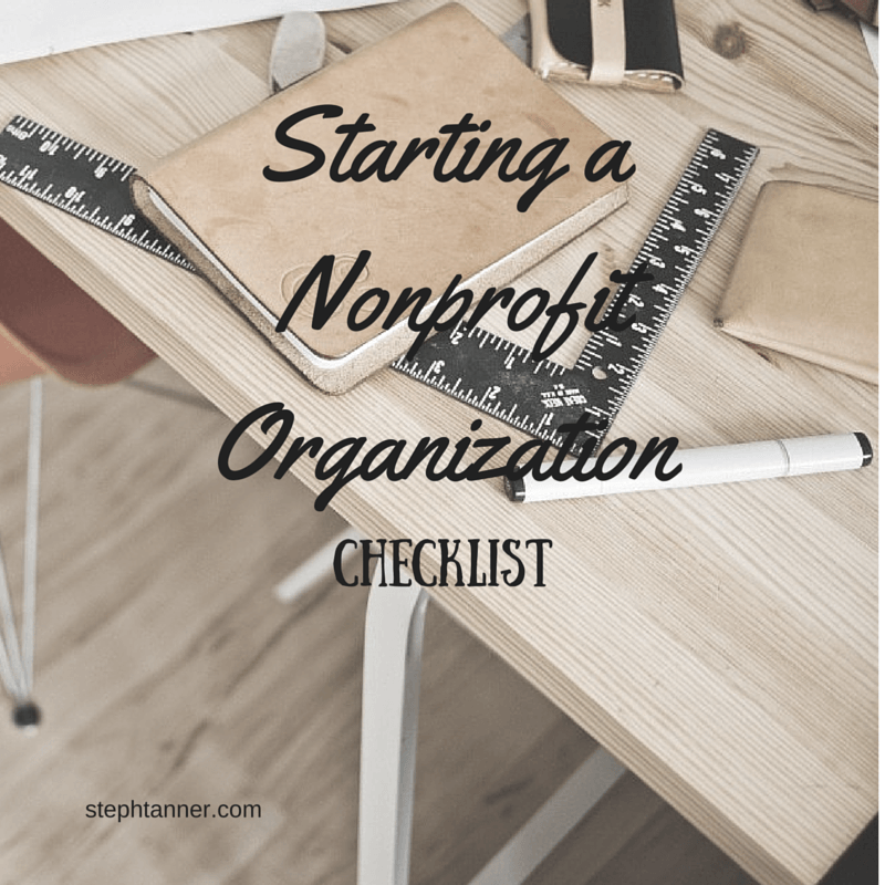 How To Start A Nonprofit Organization Step-by-Step