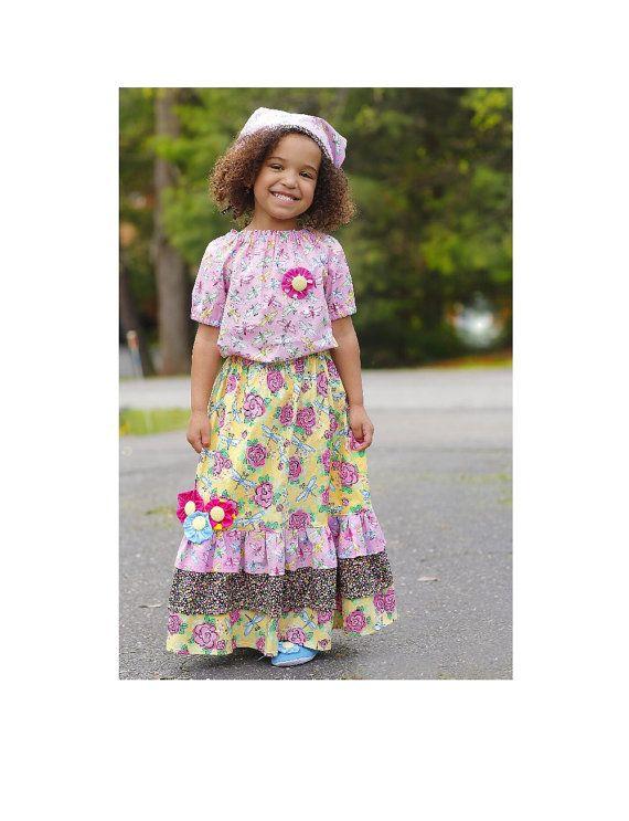 Toddler Girls Maxi Dress Feather Print Twirly Dress Size 5 Navy ...
