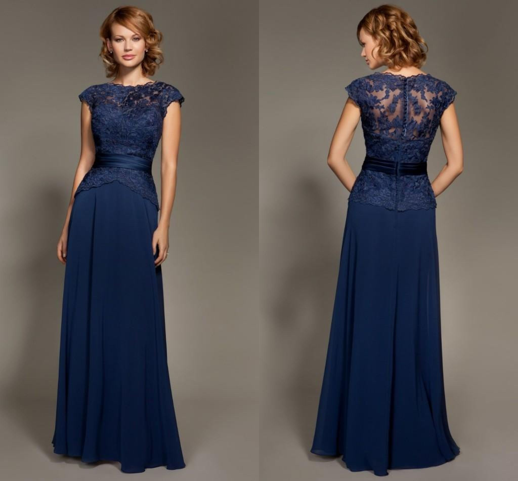 Navy blue dress for wedding dress for country wedding guest check