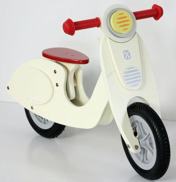 Janod Vespa-Inspired Balance Bike