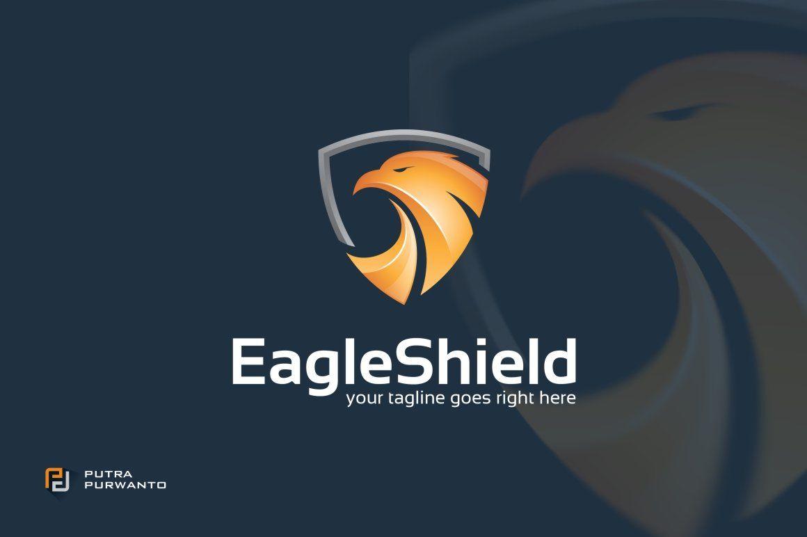 Eagle Shield Logo Template Logo Templates Shield Logo Logos