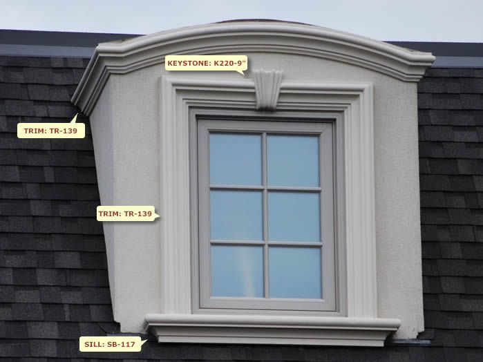 window design w 41 - Exterior Window Moulding Designs