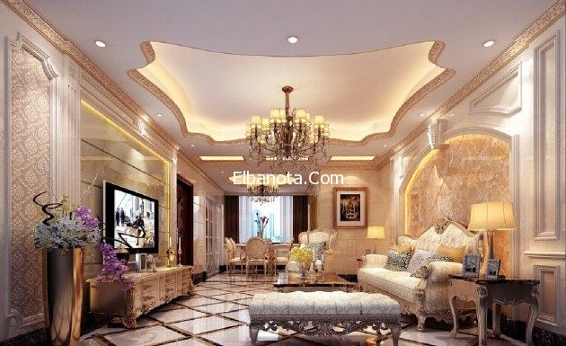 ديكورات Classic Interior Design European Style Homes Luxury Decor