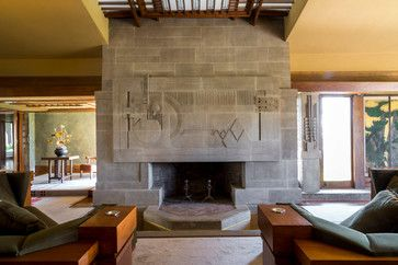 Hollyhock House Modern Living Room Los Angeles By Joshua White Frank Lloyd Wright Homes Lloyd Wright Frank Lloyd Wright