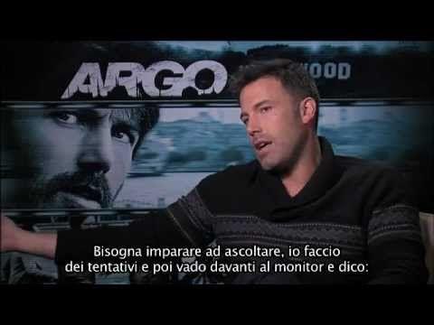 """""""Volevo che si mantenesse quella correlazione, quella somiglianza. Si trattava di una storia vera."""" Intervista a #BenAffleck (sottotitoli in italiano) #ArgoIT #ARGO"""
