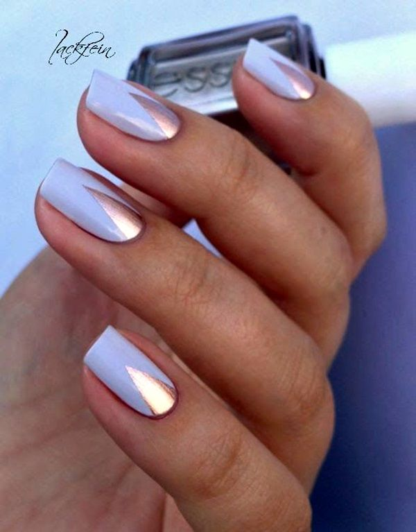 45 Creative and Pretty Nail Designs Ideas - Latest Fashion Trends - 45 Creative And Pretty Nail Designs Ideas Nail Designs & Art