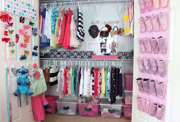 Kids Closet Organization Ideas