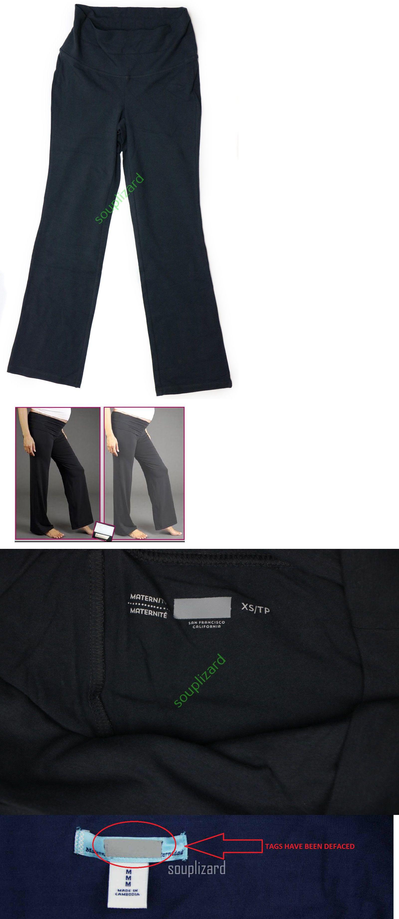 318603c45e61 Pants 63857: New Old Navy Maternity Fold Over Gray Yoga Pants Women S Nwot  Size Xs S M L Xl -> BUY IT NOW ONLY: $18.1 on #eBay #pants #maternity #women