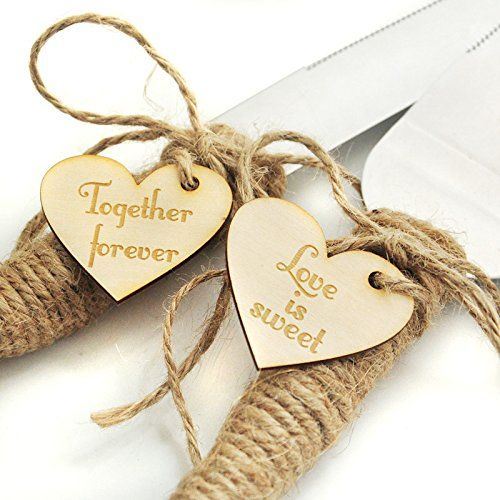 Kitchen Knife Rustic Wedding Cake And Server Set Country Cutter Gift Continue To The Product At Image Link