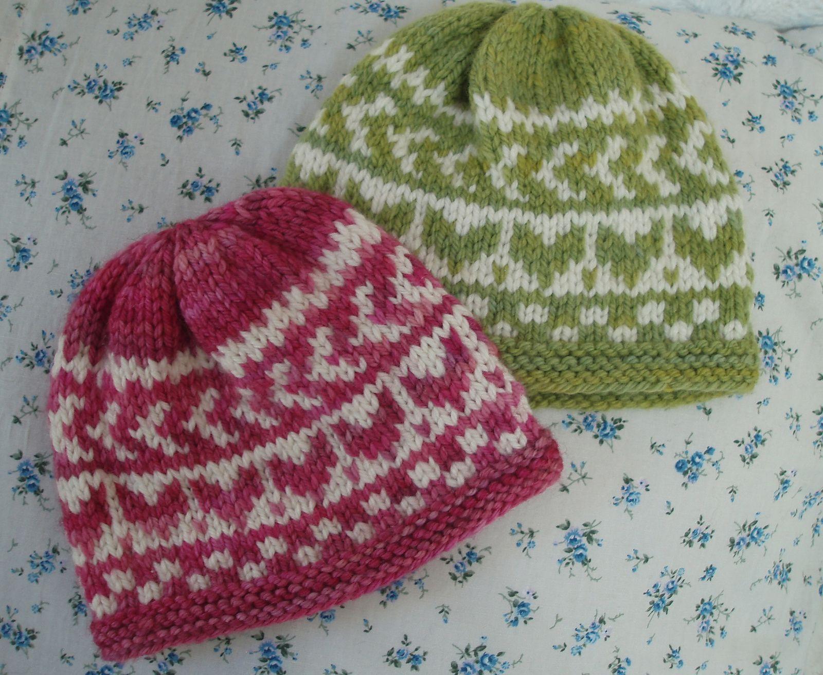 February Baby Fair Isle Hat pattern by Chiaki Hayashi | February ...