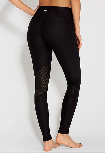legging with mesh inlay - maurices.com