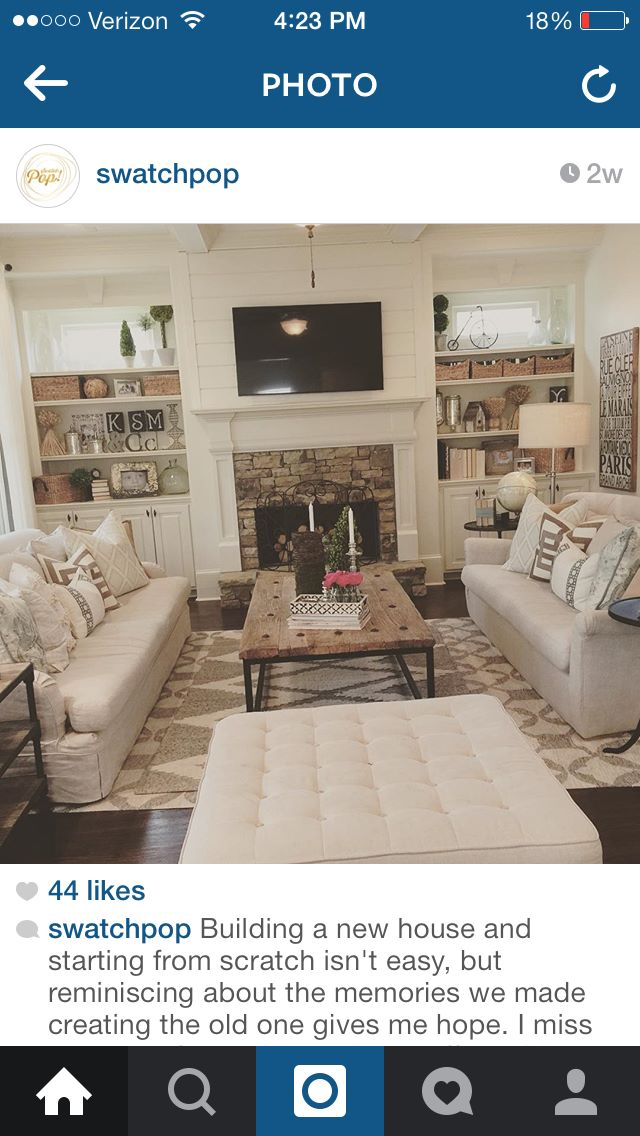 Living Room Furniture Setup Ideas Decorate A Love The Fireplace: Mantle, Ship Lap, And Stacked Stone ...