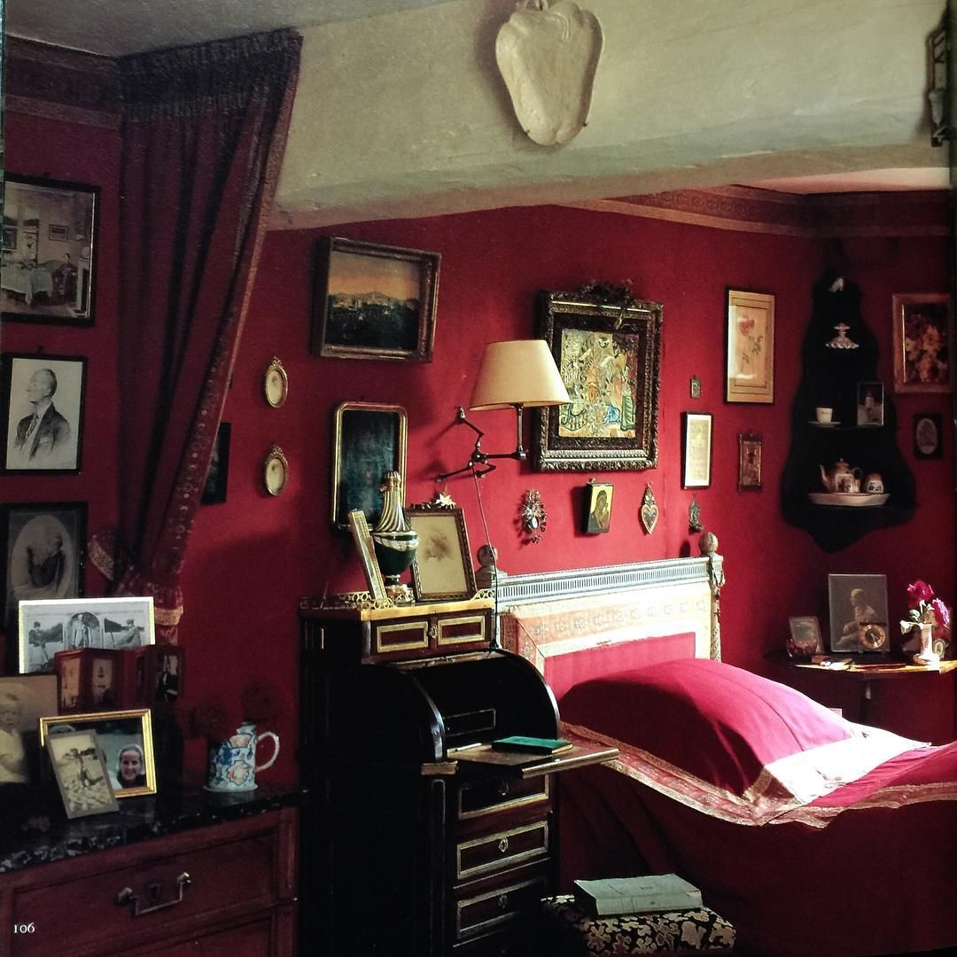 Red Mansion Master Bedrooms marie de la rochefoucauld de noailles, duchesse de mouchy, at le