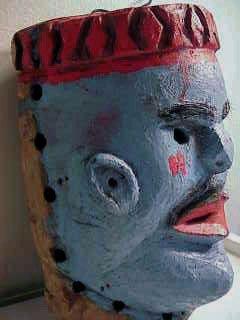 Nyau mask  Chewa people, Malawi