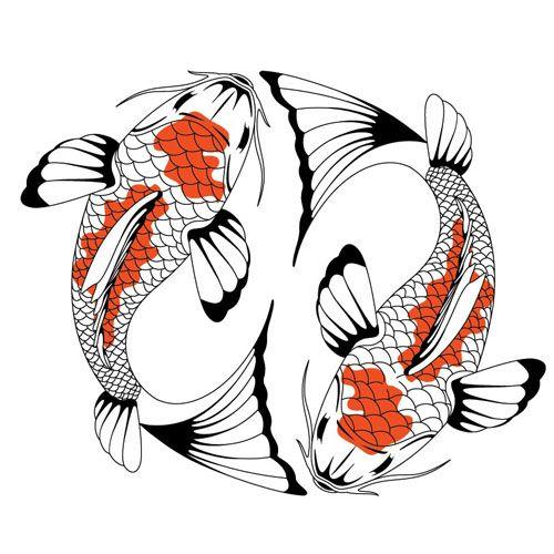 yin yang zen tangling pinterest yin yang koi and tattoo rh pinterest com Yin Yang Artwork Yin Yang Symbol Meaning