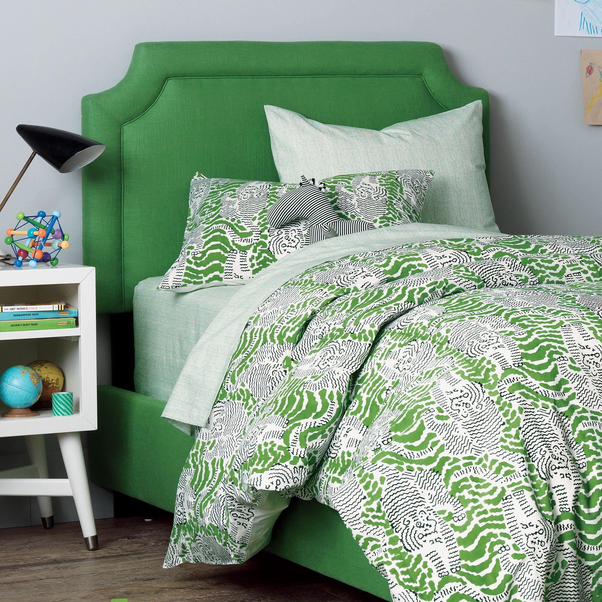 Wonderful DwellStudio Tiger Block Print Duvet Set | DwellStudio Good Ideas