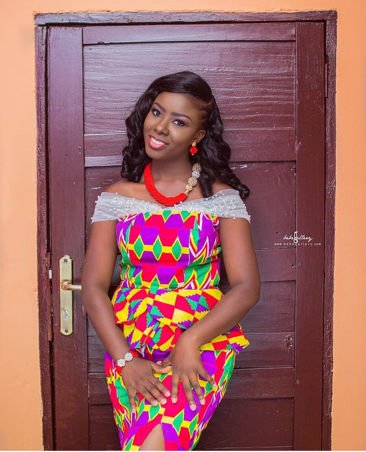 Kente wedding decorations  Pin by Mz Efya on engagement weddings  Pinterest  African fashion