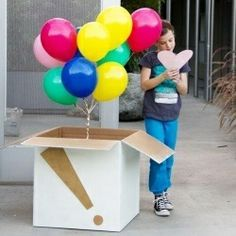Make Someone S Birthday Or Any Day A Little Better With Diy Balloon Surprise On Their Doorstep I Think This Is The Best