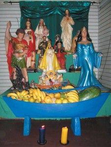 altar de santeria