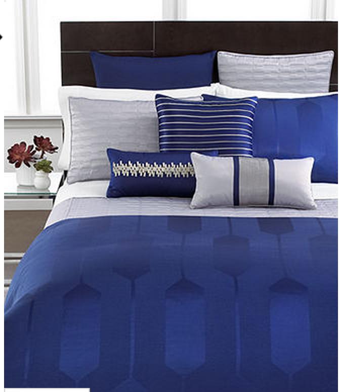 Royal blue. | Hotel collection bedding, Blue bedroom ...