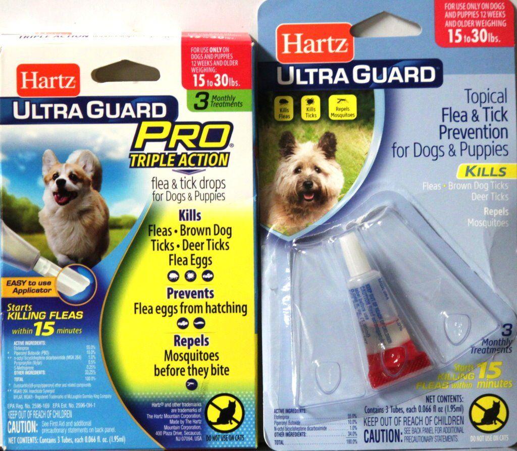 Hartz Ultra Guard Pro Dog Flea Tick Drops 15 To 30 Lbs Bonus Is Available At Scrapbookfare Com Fleas Brown Dog Tick Hartz