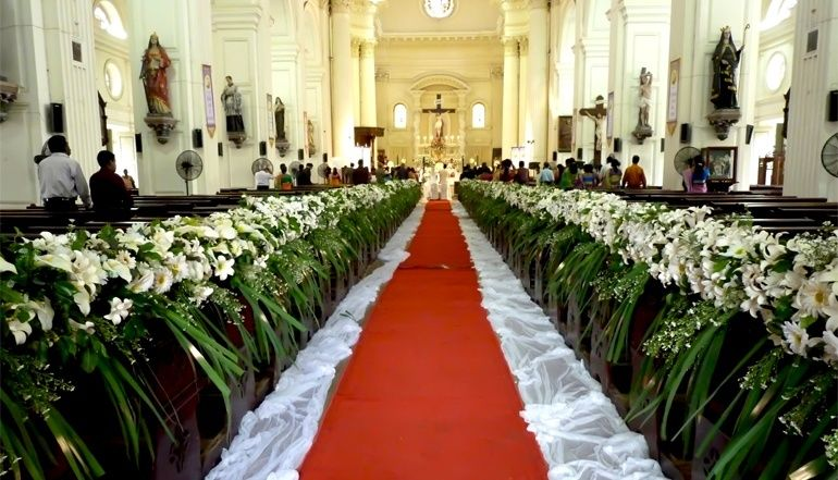 Amazing Of Church Wedding Flower Decorations Flowers