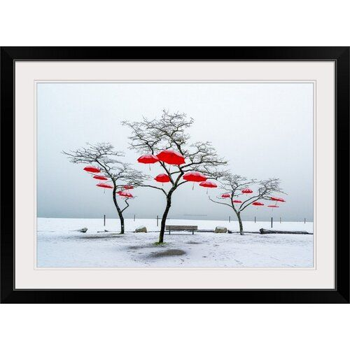 The perfect 'Red Umbrellas' Vladimir Kostka Photographic Print by Great Big Canvas Wall Art Decor. [$249.99] findthegreat from top store