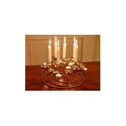 Kerzenträger Medusa Gift-Company silber, 12.7 cm #decodenoelfaitmaison
